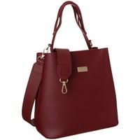 Taschen Damen Handtasche Badura 107260 Dunkelrot
