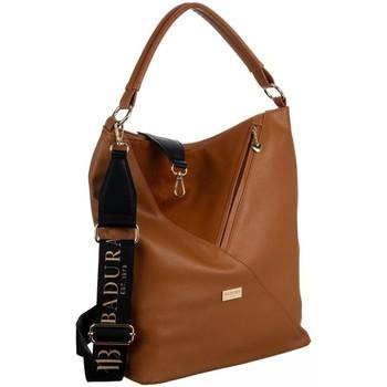 Taschen Damen Handtasche Badura 131110 Braun
