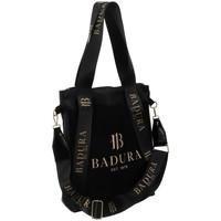 Taschen Damen Handtasche Badura 94650 Schwarz