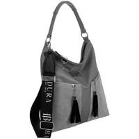 Taschen Damen Handtasche Badura 131400 Grau