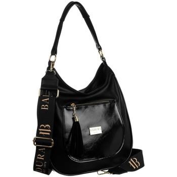 Taschen Damen Handtasche Badura 131260 Schwarz