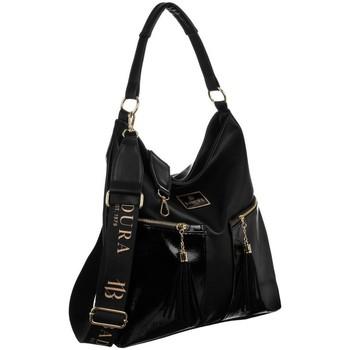 Taschen Damen Handtasche Badura 131200 Schwarz