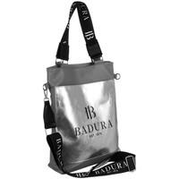 Taschen Damen Handtasche Badura 131080 Grau, Silber