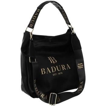Taschen Damen Handtasche Badura 94680 Schwarz