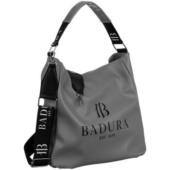 Taschen Damen Handtasche Badura 131040 Grau
