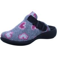 Schuhe Damen Hausschuhe Romika Westland 15307TE442/711 grau