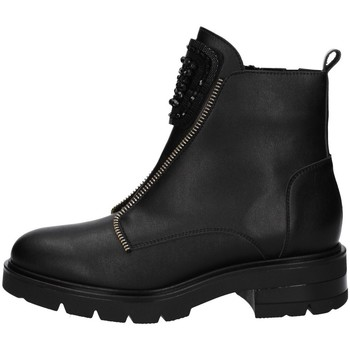 Schuhe Damen Ankle Boots Comart 283997 Schwarz