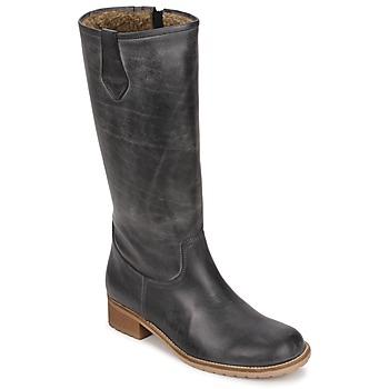 Schuhe Damen Klassische Stiefel Jopper JINIDINE Schwarz