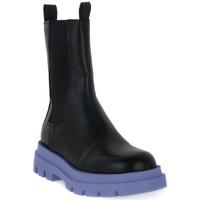 Schuhe Damen Low Boots Priv Lab LONDON 88 Nero