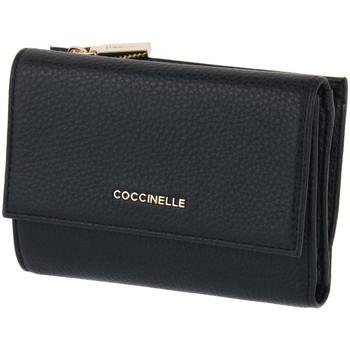 Taschen Damen Portemonnaie Coccinelle 001 METALLIC SOFT Nero