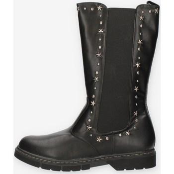 Schuhe Mädchen Klassische Stiefel Café Noir C1434 Schwarz