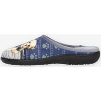 Schuhe Damen Hausschuhe Clia Walk HAPPY Blau