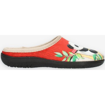 Schuhe Damen Hausschuhe Clia Walk HAPPY Rot