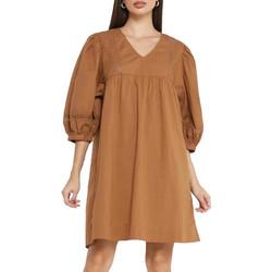 Kleidung Damen Kurze Kleider Jacqueline De Yong 15211830 Braun