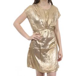 Kleidung Damen Kurze Kleider Deeluxe 01V207W Gold
