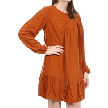 Kleidung Damen Kurze Kleider Jacqueline De Yong 15226843 Orange