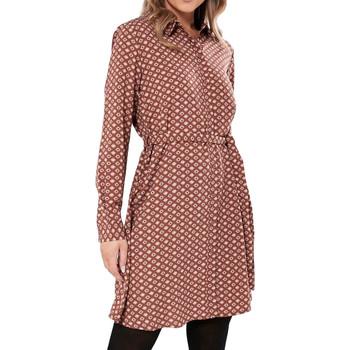 Kleidung Damen Kurze Kleider Jacqueline De Yong 15238727 Rot