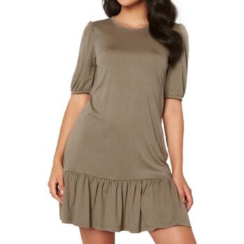 Kleidung Damen Kurze Kleider Jacqueline De Yong 15228769 Braun