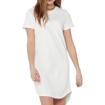 Kleidung Damen Kurze Kleider Jacqueline De Yong 15174793 Weiss