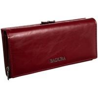 Taschen Damen Portemonnaie Badura 95890 Dunkelrot