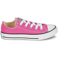 Schuhe Kinder Sneaker Low Converse Chaussures Enfant Ctas season Hi Canvas Rose - Rose
