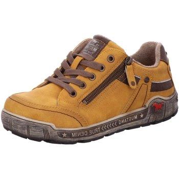Schuhe Damen Derby-Schuhe & Richelieu Mustang Schnuerschuhe 1290-302-6 gelb