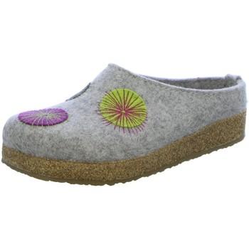 Schuhe Damen Hausschuhe Haflinger Grizzly Radius 751008-84 grau