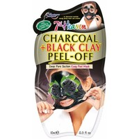 Accessoires Masken 7Th Heaven Peel-off  Charcoal + Black Clay Mask