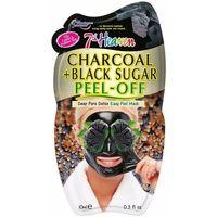 Accessoires Masken 7Th Heaven Peel-off Charcoal + Black Sugar Mask