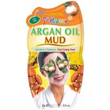 Accessoires Masken 7Th Heaven Mud Argan Oil Mask 15 Gr