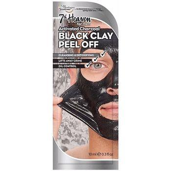 Accessoires Masken 7Th Heaven For Men Black Clay Peel-off Mask 10 Ml