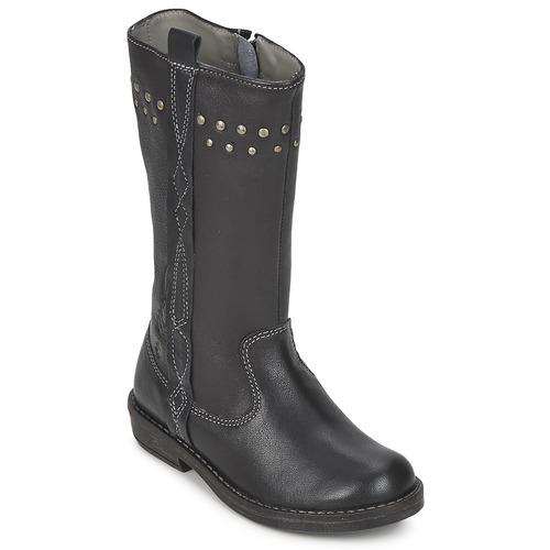 Schuhe Mädchen Klassische Stiefel Noel FREESIA Schwarz