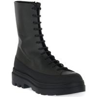 Schuhe Damen Low Boots Priv Lab 318 VITELLO MILITARE Nero
