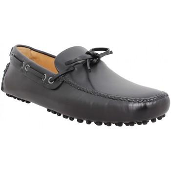 Schuhe Herren Slipper Car Shoe 109859 Schwarz