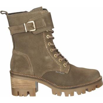 Schuhe Damen Low Boots Bullboxer Stiefelette Grau