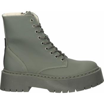 Schuhe Damen Boots Steve Madden Stiefelette Khaki