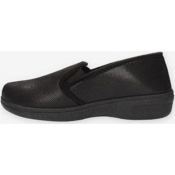 Schuhe Damen Hausschuhe Clia Walk HOME62 Schwarz