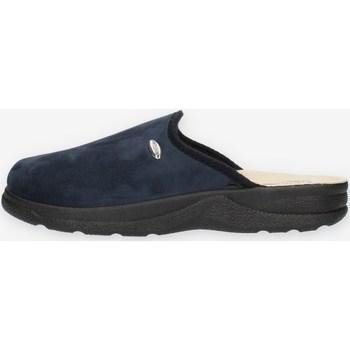 Schuhe Herren Pantoffel Clia Walk COMFORT114 Blau