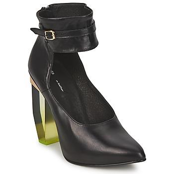 Schuhe Damen Pumps Miista CRISTAL Schwarz
