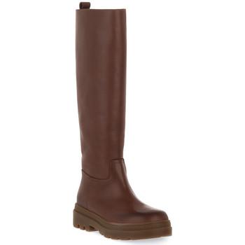 Schuhe Damen Klassische Stiefel Priv Lab 325 NUT VITELLO Marrone