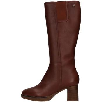 Schuhe Damen Klassische Stiefel CallagHan 27405 Braun