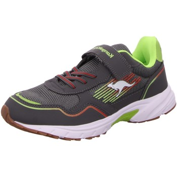 Schuhe Jungen Sneaker Kangaroos Low K-NI REMI EV 18753-2014 grau