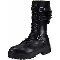 Schuhe Damen Stiefel Bullboxer Stiefel 129516F6S-BKCL schwarz