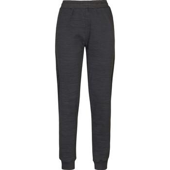 Kleidung Damen Jogginghosen Kappa Pantalon femme  savonata noir/gris foncé