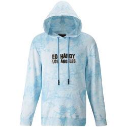 Kleidung Herren Sweatshirts Ed Hardy - Los tigre hoody Blau