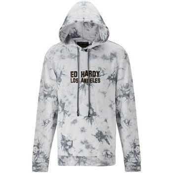 Kleidung Herren Sweatshirts Ed Hardy - Los tigres hoody grey Grau