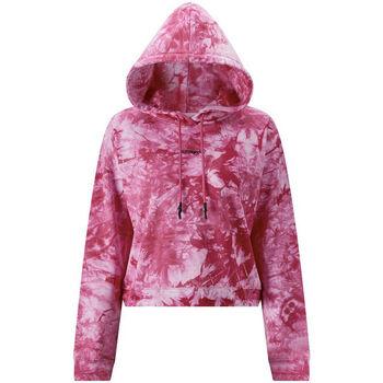 Kleidung Herren Sweatshirts Ed Hardy - Los tigre grop hoody hot pink Rose