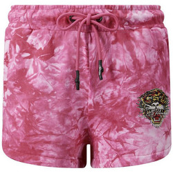 Kleidung Herren Shorts / Bermudas Ed Hardy - Los tigre runner short hot pink Rose