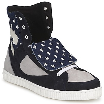 Schuhe Damen Sneaker High Chipie JILIANE Marine / Grau