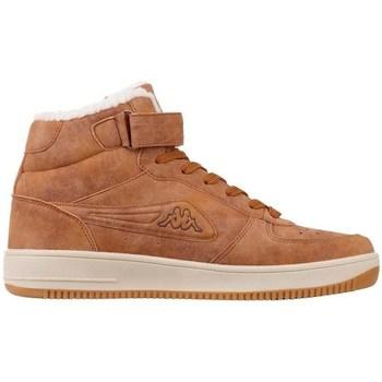 Schuhe Herren Sneaker High Kappa Bash Mid Fur Braun